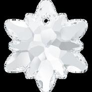 Swarovski Pendant 6748 - 14mm, Crystal (001), 72pcs