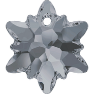 Swarovski Pendant 6748 - 14mm, Crystal Silver Night (001 SINI), 72pcs
