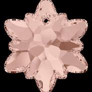 Swarovski Pendant 6748 - 14mm, Vintage Rose (319), 72pcs