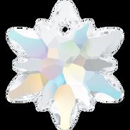 Swarovski Pendant 6748 - 28mm, Crystal Aurore Boreale (001 AB), 18pcs