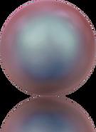 Swarovski Crystal Pearl 5817 MM 6,0 CRYSTAL IRIDESCENT RED PRL, Half-drilled, 250pcs