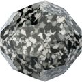 Swarovski 5000/B MM 10,0 MARBLED BLACK(6pcs)