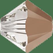 Swar Bead 5328 - 4mm, Crystal Rose Gold (001 ROGL), 48pcs