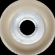 Swarovski Crystal Pearl 5890 MM 14,0 CRYSTAL PLATUM PRL STEEL(1pcs)