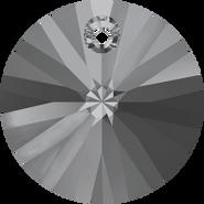 Swar Pendant 6428 - 8mm, Crystal Silver Night (001 SINI), 12pcs
