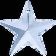 Swar Crystal Pendant 6714 - 40mm, Crystal Blue Shade (001 BLSH), 1pcs