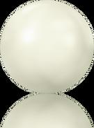 Swar Hotfix Pearl 2080/4 - ss16, Crystal White (001 650), Hotfix, 1440pcs