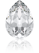 Swarovski Fancy Stone 4320 - 6x4mm, Crystal (001) Foiled, 360pcs