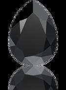Swarovski Fancy Stone 4320 MM 10,0X 7,0 JET(144pcs)