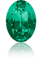 Swarovski 4120 MM 14,0X 10,0 EMERALD F(144pcs)