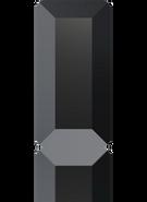 Swarovski Flat Back 2510 MM 5,0X 2,5 JET M HF(720pcs)