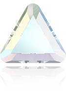 Swarovski Flat Back 2711 MM 6,0 CRYSTAL AB M HF(360pcs)