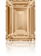 Swarovski Fancy Stone 4527 MM 8,0X 6,0 CRYSTAL GOL.SHADOW F(144pcs)