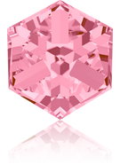 Swarovski Fancy Stone 4841 MM 8,0 LIGHT ROSE CAL'VZ'(72pcs)