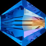 Swarovksi Bead 5328 - 4m, Sapphire Aurore Boreale 2x (206 AB2), 1440pcs