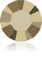 Swarovski 1028 PP 11 CRYSTAL METLGTGOLD F(1440pcs)