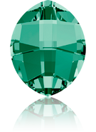 Swarovski Fancy Stone 4224 MM 10,0X 8,0 EMERALD F(144pcs)