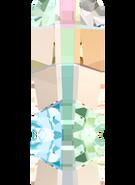 Swarovski Fancy Stone 4524 MM 16,0X 8,0 CRYSTAL AB F(72pcs)