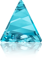 Swarovski Fancy Stone 4717 MM 15,5 AQUAMARINE F(72pcs)