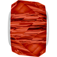 Swarovski 5928 MM 14,0 CRYSTAL RED MAGMA STEEL(12pcs)
