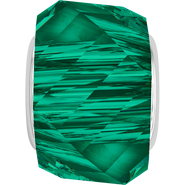 Swarovski 5928 MM 14,0 EMERALD STEEL(12pcs)
