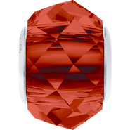 Swarovski 5948 MM 14,0 CRYSTAL RED MAGMA STEEL(12pcs)