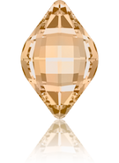 Swarovski Fancy Stone 4230 MM 23,0X 15,0 CRYSTAL GOL.SHADOW F(48pcs)