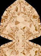 Swarovski Fancy Stone 4706 MM 17,0 CRYSTAL GOL.SHADOW F(48pcs)