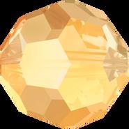 Swarovski Bead 5000 - 10mm, Crystal Metallic Sunshine (001 METSH), 144pcs