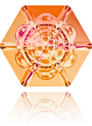 Swarovski Fancy Stone 4681 MM 18,0 CRYSTAL ASTRALPINK F(48pcs)