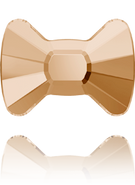 Swarovski Flat Back 2858 MM 12,0X 8,5 CRYSTAL GOL.SHADOW F(96pcs)