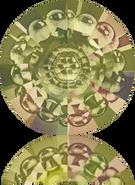 Swarovski Round Stone 1681 MM 12,0 CRYSTAL LUMINGREEN F(72pcs)