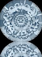 Swarovski Round Stone 1681 MM 16,0 CRYSTAL BL.SHADE F(48pcs)