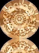 Swarovski Round Stone 1681 MM 16,0 CRYSTAL GOL.SHADOW F(48pcs)