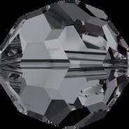 Swarovski Bead 5000 - 3mm, Crystal Silver Night (001 SINI), 720pcs