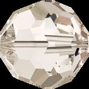 Swarovski Bead 5000 - 8mm, Crystal Silver Shade (001 SSHA), 288pcs