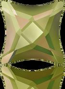 Swarovski 2494 MM 10,5 CRYSTAL LUMINGREEN M HF(96pcs)