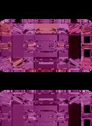 Swarovski Button 3093 MM 21,0X 11,0 CRYSTAL VOLC F(36pcs)