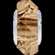 Swarovski 5929 MM 14,0 CRYSTAL GOL.SHADOW STEEL(12pcs)