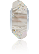 Swarovski 5929 MM 14,0 CRYSTAL SILVSHADE STEEL(12pcs)