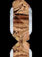 Swarovski 5929 MM 14,0 LIGHT SMOKED TOPAZ STEEL(12pcs)