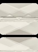 Swarovski Bead 5055 MM 10,0X 8,0 CRYSTAL SILVSHADE(72pcs)