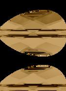 Swarovski Bead 5056 MM 10,0X 6,0 CRYSTAL BRONZSHADE(144pcs)