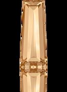 Swarovski Fancy Stone 4503 MM 6,3X 2,4 CRYSTAL GOL.SHADOW F(720pcs)