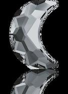 Swarovski 2813 MM 14,0X 9,5 CRYSTAL SILVNIGHT F(72pcs)