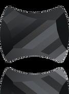 Swarovski 2540 MM 7,0X 5,5 JET(240pcs)