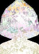 Swarovski Fancy Stone 4706 MM 12,0 CRYSTAL WHITE-PAT F(72pcs)