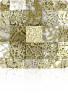 Swarovski 2493 MM 8,0 CRYSTAL GOLD-PAT M HF(216pcs)