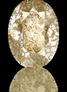 Swarovski 4120 MM 14,0X 10,0 CRYSTAL GOLD-PAT F(144pcs)