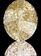 Swarovski Fancy Stone 4224 MM 23,0X 18,0 CRYSTAL GOLD-PAT F(20pcs)